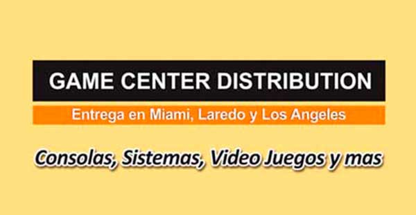 GAME CENTER DISTRIBUTION